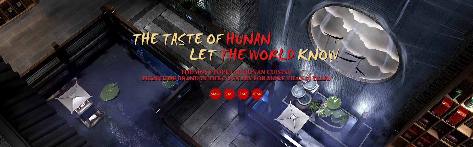 The taste of Hunan let the world know