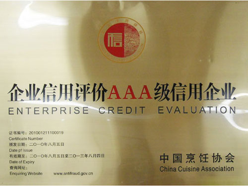 AAA Grade Credit Enterprise in 2010